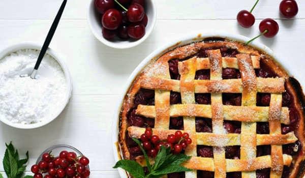 tarta de cerezas