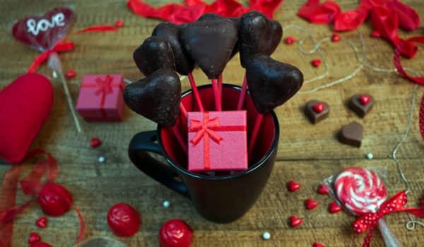 chocolate para san valentin